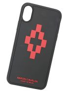 Marcelo Burlon Iphone Xs Cover - Black/red