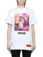 HERON PRESTON Short Sleeve T-Shirt - White multi
