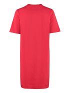 Love Moschino Cotton Mini-dress - red