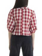 Batsheva Apron Blouse - Red Gingham