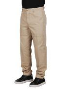 Lanvin Beige Cotton Trousers - Beige