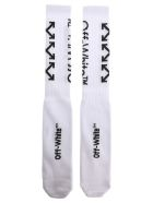 Off-White Off White Arrows Mid Socks - WHITE