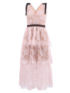 self-portrait Lace Dress - Pink