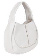 Tod's White Leather Tote Bag - White