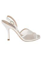 Stuart Weitzman Mesha Sandals - Cream