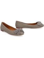 Tory Burch Embellished Bow Ballet Flats - Multicolor