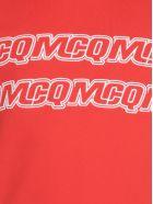 McQ Alexander McQueen Sweatshirt With Logo - Solar Red