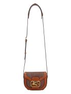 Etro Pegaso Paisley Print Crossbody Bag - Saddle Brown