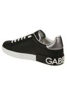 Dolce & Gabbana Logo Sneakers - silver