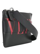 Valentino Garavani Cross Body Bag - Nero/rouge pur