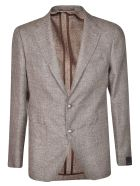 Tagliatore Slim-fit Blazer - Brown