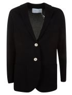 Harris Wharf London Loose Boyfriend Jacket - Black