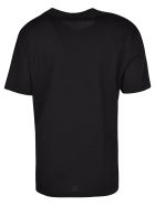 Versace With Love Print T-shirt - Black