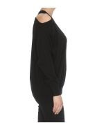 (nude) Sweater - Black