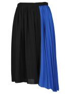 Kenzo Skirt Pleates - BLACK + BLUE