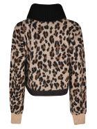 Sacai Leopard Sweater - Beige