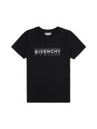 Givenchy Logo Print Cotton T-shirt - black