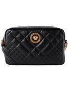 Versace Versace Quilted Shoulder Bag - Ot Nero Oro Tribute