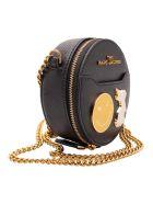 Marc Jacobs 'charm' Leather Shoulder Bag - Black