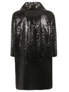 In The Mood For Love Sequined Coat - Black