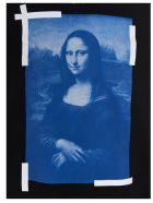Off-White 'blue Monalisa' Sweatshirt - Black