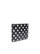 Comme des Garçons Wallet Dots Printed Wallet - Black