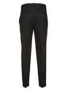 Jil Sander Navy High Waisted Tapered Trousers - Black