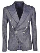 Tagliatore Double Breasted Blazer - Grey