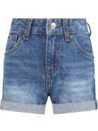 Levi's Light Blue Short For Girl - Denim