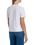 Calvin Klein Jeans Institutional Tee With Patchwork Print - Bianco