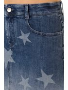 Stella McCartney Denim Stars Miniskirt - Blue