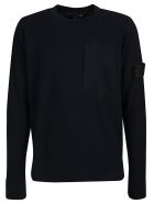 Stone Island Shadow Project Round Neck Sweatshirt - Black