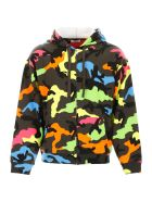 Valentino Camouflage Hoodie - CAMOU MULTICOLOR (Yellow)