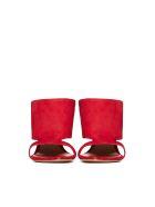 Schutz Flat Shoes - Rosso