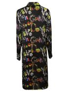 Versus Versace Printed Shirt Dress