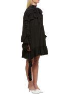 Rokh Ruffle Trim Dress - Nero