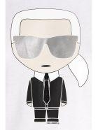 Karl Lagerfeld 'ikonic Karl' T-shirt - White