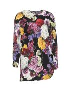 Dolce & Gabbana Ortensie Print Blouse - Multicolor