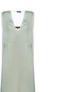 Theory Drape Dress - Verde chiaro