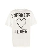 Golden Goose Over Cotton T-shirt - White