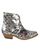 Golden Goose Young Boots - SILVER PAILLETTES