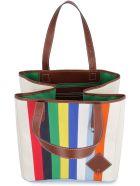 J.W. Anderson Canvas Tote Bag - Multicolor