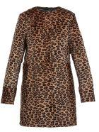 DROMe Animalier Cowhide Coat - Leopard