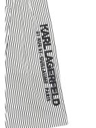 Karl Lagerfeld Pants - Bianco nero