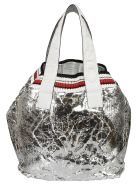 Ermanno Scervino Knitted Tote - grey