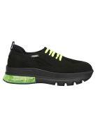 Fendi Sneakers - Nero/giallo fluo