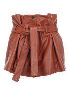 The Attico Bermuda Shorts - Cognac