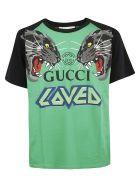 Gucci Oversized Printed T-shirt - Basic