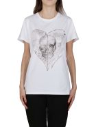 Alexander McQueen White Cotton T-shirt - White