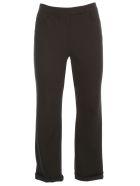 Theory Crop Pants Cotton - Black
